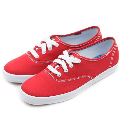 LIKA夢 Keds 時尚韓風經典款帆布鞋 Classics系列 紅 110003 女