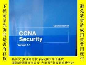 二手書博民逛書店CCNA罕見Security Course Booklet Ve