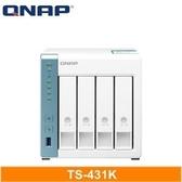 【綠蔭-免運】QNAP TS-431K 網路儲存伺服器
