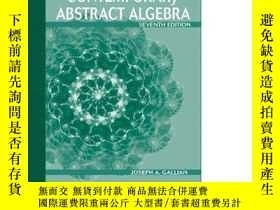 二手書博民逛書店Student罕見Solutions Manual For Gallian s Contemporary Abst