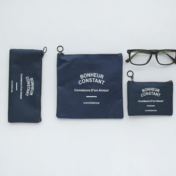 【BlueCat】BC鄉村風帆布筆袋 鉛筆盒