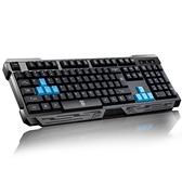 鍵盤 機械手感usb筆記本臺式電腦家用辦公遊戲通用 阿宅