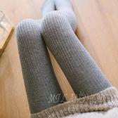 秋冬季款女士羊絨褲襪加厚連褲襪羊毛打底襪絲襪韓版百搭 米蘭shoe