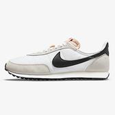 Nike WAFFLE TRAINER 2 男鞋 休閒 復古 經典 麂皮 米白黑【運動世界】DH1349-100