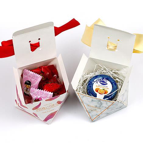 幸福婚禮小物❤DIY新款鑽石喜糖盒❤迎賓禮/二次進場/活動小禮物/送客禮/喜糖盒