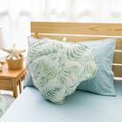 【涼夏專區】沐夏森林涼感葉子造型抱枕