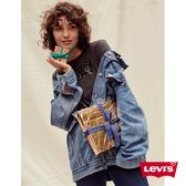 Levis 女款 長版牛仔外套 / 腰間綁帶設計 / 寬鬆落肩版型 / Lyocell天然環保纖維