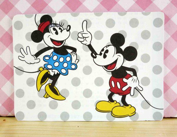 【震撼精品百貨】Micky Mouse_米奇/米妮 ~卡片-點點圖案-米奇米妮