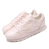 【海外限定】 Reebok 休閒鞋 CL LTHR 粉紅 皮革 復刻 女鞋 百搭款 【PUMP306】 CN5467