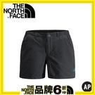【The North Face 女 彈性短褲 墨灰】0A2RGU/慢跑短褲/短褲/快乾短褲
