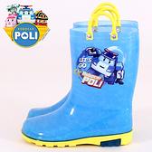 男童 POLI 波力 救援小英雄 台灣製造提帶造型 兒童雨鞋 兒童雨靴 59鞋廊