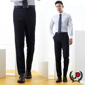 極品西服 時尚紳士簡約俐落窄版款西裝褲_黑(BS752-5)