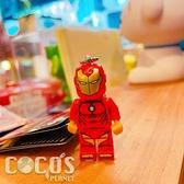 正版 LEGO 樂高鑰匙圈 超級英雄 鋼鐵人 人偶鑰匙圈 鎖圈 吊飾 COCOS FG280