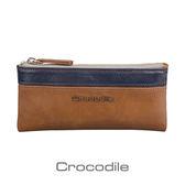Crocodile Naturale 系列 Easy 輕巧零錢鑰匙兩用包0103-08103-02
