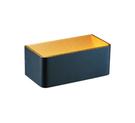 燈飾燈具【燈王的店】舞光 LED 7W 黑金箔雙壁燈附光源(限裝潢板用) LED-26001-BK