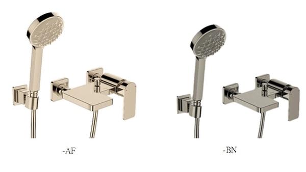 【麗室衛浴】美國KOHLER活動促銷 Parallel 淋浴龍頭組 K-23494T-4-AF 法藍金 / -BN 霧鎳