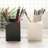 日繫簡約多功能筆筒黑白系列無印風學生筆筒桌面文具收納盒辦公用·ifashion