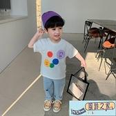男童短袖t恤夏季上衣韓版寶寶半袖【風鈴之家】