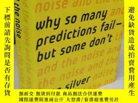 二手書博民逛書店The罕見Signal and the Noise: Why So Many Predictions Fail--