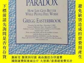 二手書博民逛書店大32開英文原版罕見The Progress Paradox:H