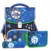 Tiger Family 小學者 超輕量護脊書包+文具袋+鉛筆盒 -- 8號足球 NO.H2441