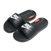 NIKE 拖鞋 VICTORI ONE SLIDE 全黑 軟Q 基本 女 (布魯克林) CN9677-005