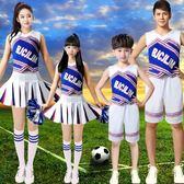 啦啦操演出服裝男女兒童、學生健美操表演服
