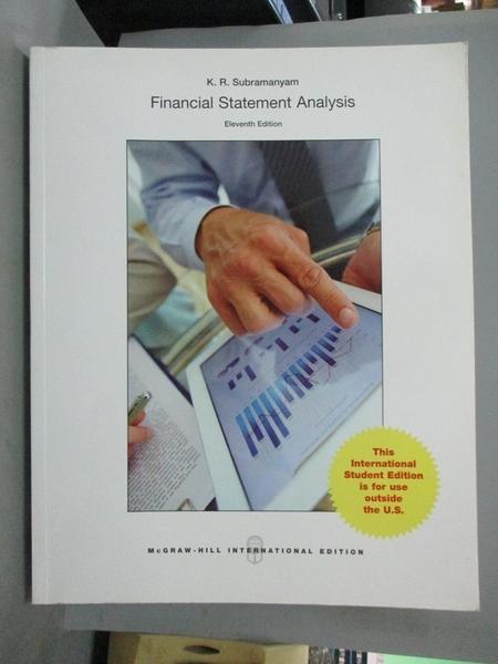 【書寶二手書T1/大學商學_YFX】Financial Statement Analysis_Subramanyam
