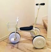 簡約無印兒童三輪車腳踏車1-3歲幼兒輕便手推車自行車寶寶童車  百搭潮品