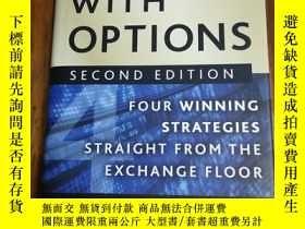 二手書博民逛書店Get罕見Rich with Options: Four Winning Strategies Straight