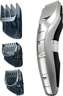 Panasonic 松下【日本代購】電動理髮器 修髮器 充電式 可水洗ER-GC72-S