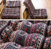 坐墊 圓形方形布藝全棉加厚蒲團日式陽台榻榻米坐墊茶樓會所瑜伽大坐墊 莎瓦迪卡