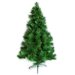 摩達客 台灣製15尺特級綠色松針葉聖誕樹 裸樹(不含飾品不含燈)