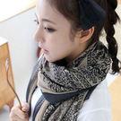 披肩 圍巾 小鹿雪紡 絲巾 (4色)【A...
