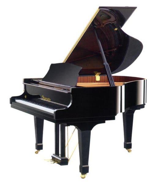 【HLIN漢麟樂器】SPRATE平台演奏鋼琴-BK-158-黑色亮光緩降-158cm