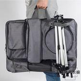畫板包雙肩後背包素描寫生袋收納畫包防水畫板袋【時尚大衣櫥】