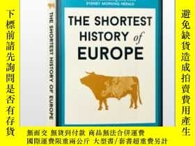 二手書博民逛書店極簡歐洲史罕見2018年新版 The Shortest History of EuropeY21066 Joh