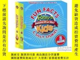 二手書博民逛書店Ripley s罕見Fun Facts & Silly Stories BOXED SET 2 booksY4