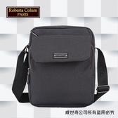 【Roberta Colum】諾貝達 百貨專櫃 男仕多功能防潑水側背包(PX501-1 黑色)【威奇包仔通】