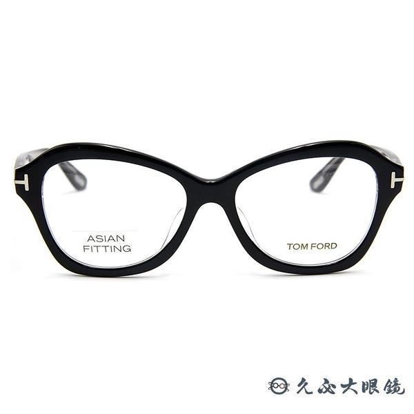 TOM FORD 眼鏡 TF5359F (黑) 亞洲版 全框 近視眼鏡 久必大眼鏡