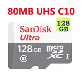 SanDisk 128GB 128G microSDXC【80MB/s】Ultra microSD micro SD SDXC UHS UHS-I Class 10 C10 多件優惠 手機記憶卡