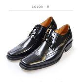 Waltz-「MIT」沖孔復古紳士鞋 212190-02黑