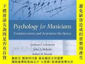 二手書博民逛書店Psychology罕見For MusiciansY364682 Andreas C. Lehmann Oxf