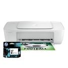 【搭67原廠墨水匣一黑】HP Deskjet 1212 輕巧亮彩噴墨印表機