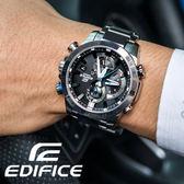【公司貨】EDIFICE EQB-800D-1ADR 高科技藍牙智慧錶款 太陽能 EQB-800D-1ADR