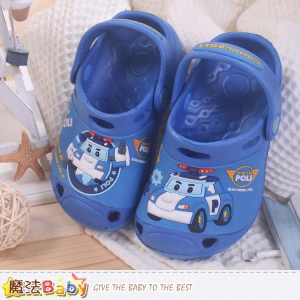 零碼特價出清男童鞋 POLI正版波力款水陸兩用輕便鞋 魔法Baby