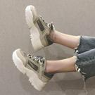 特賣厚底鞋老爹鞋女韓版學生春季厚底鬆糕鞋增高運動鞋百搭