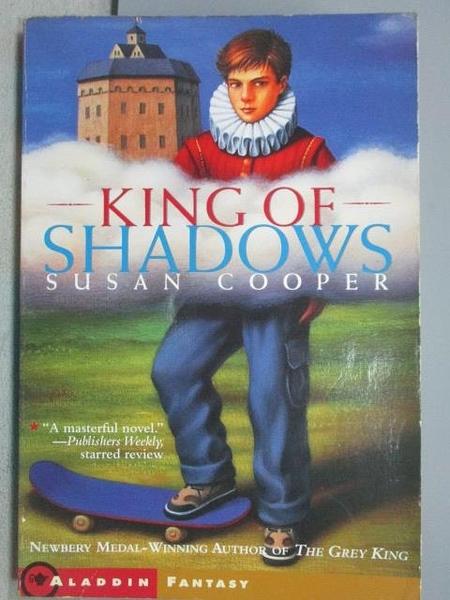 【書寶二手書T7/原文小說_FU7】King of Shadows_Susan Cooper