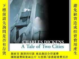 二手書博民逛書店英文原版小說罕見雙城記 A Tale of Two Cities 查爾斯狄更斯 柯林斯文學小說 Collins C