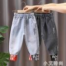 男童牛仔褲2020新款秋冬款兒童韓版洋氣長褲加絨休閒褲子一體絨潮 小艾新品